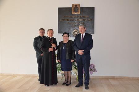 Wizyta arcybiskupa Mieczysława Mokrzyckiego