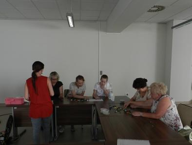 NOC BIBLIOTEK w Brzesku